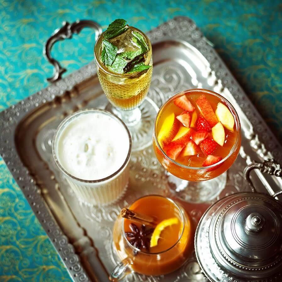 Cardamom Chai Mojito Mocktail