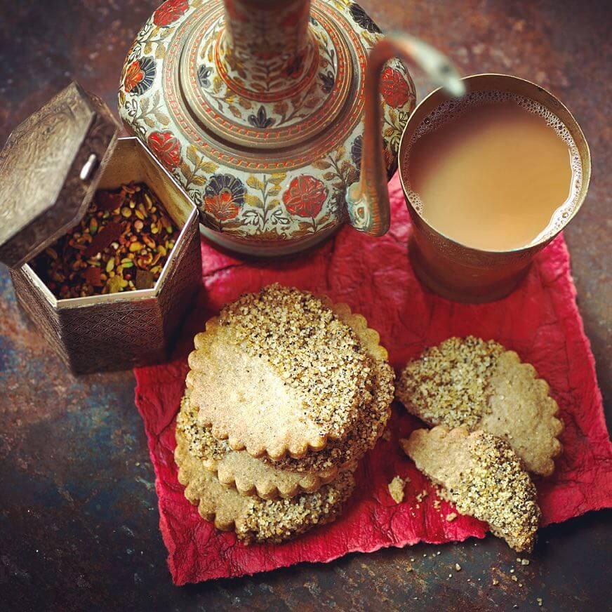 Spiced Chai Shortbread