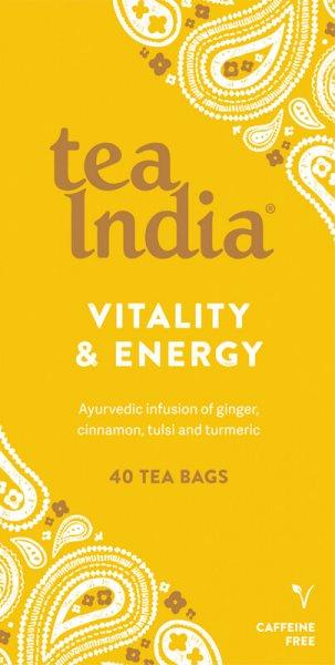 Vitality & Energy Ayurvedic Tea Bags