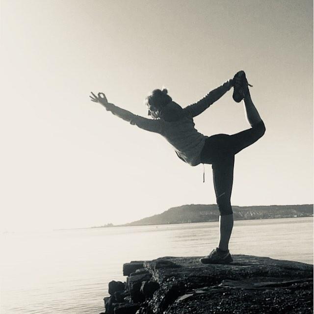 Outdoor Yoga in Spring