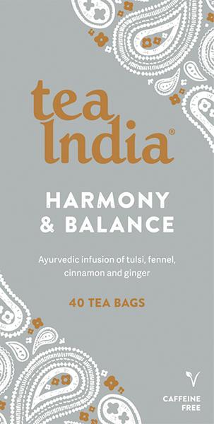 Harmony & Balance Ayurvedic Tea Bags 40s