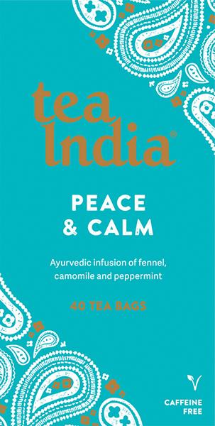 Peace & Calm Ayurvedic Tea Bags 40s