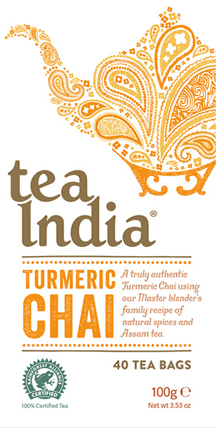 Tea India Turmeric 40s