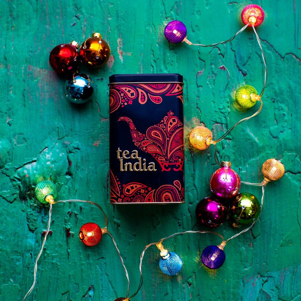 Tea India Tea Caddy