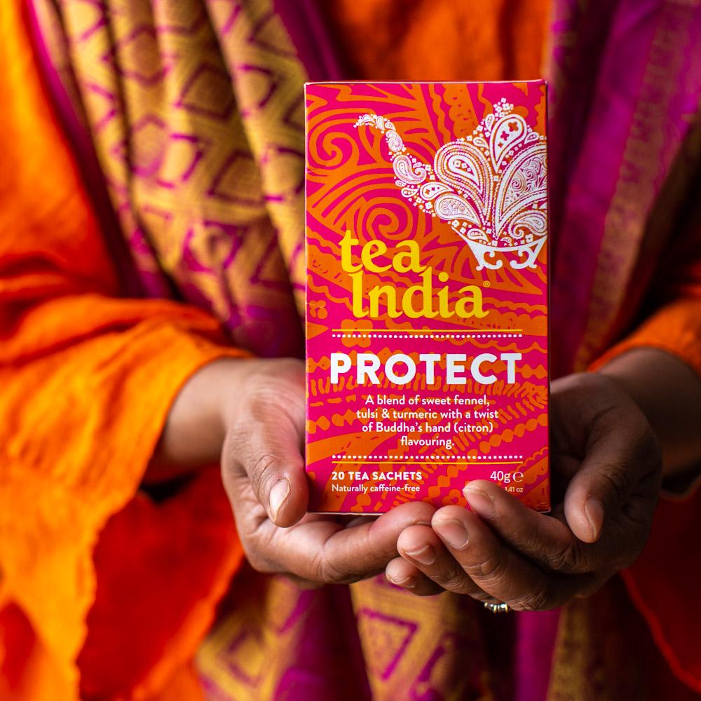 Tea India Protect Herbal Wellness Tea