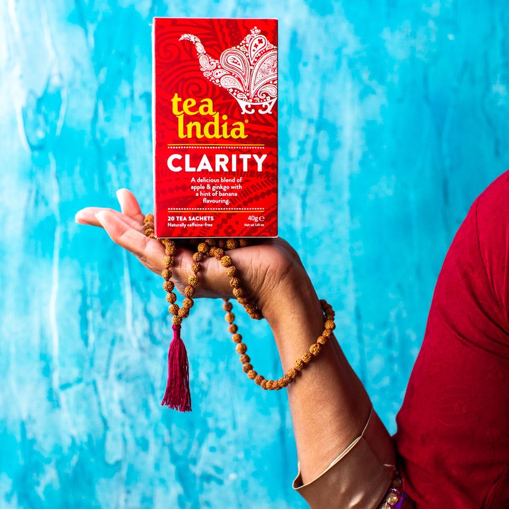 Tea India Clarity Herbal Wellness Tea