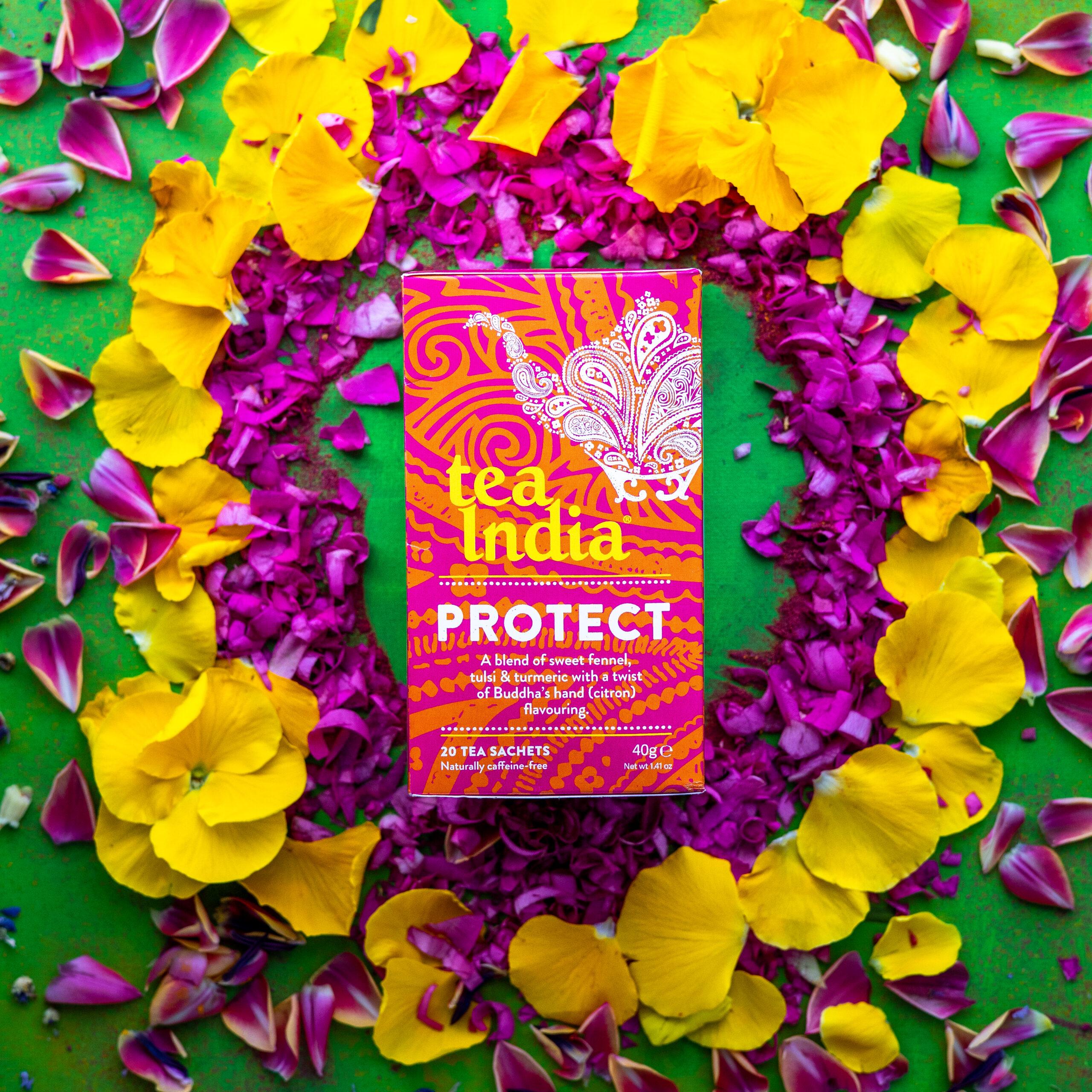 Tea India Herbal Tea for Protect
