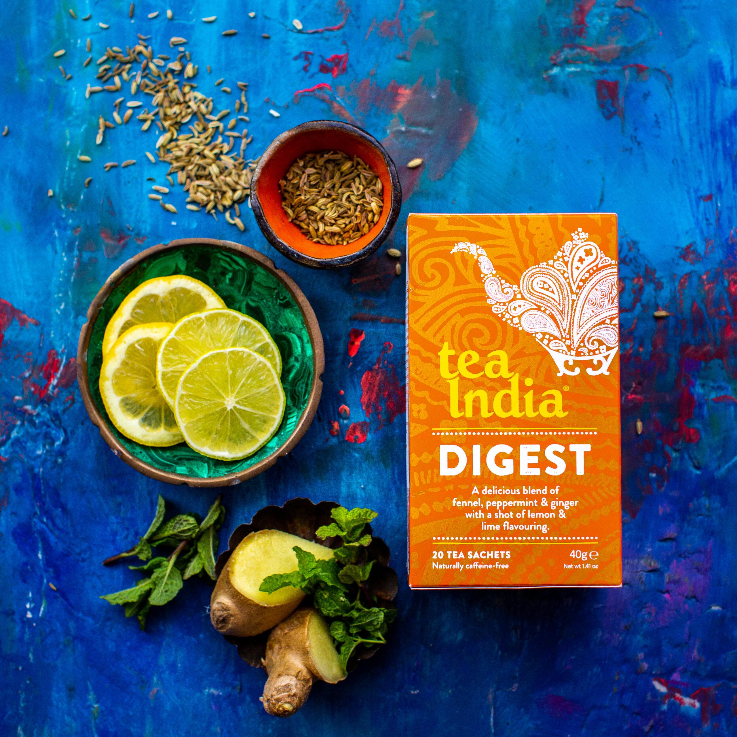 Tea India Herbal Tea for Digest