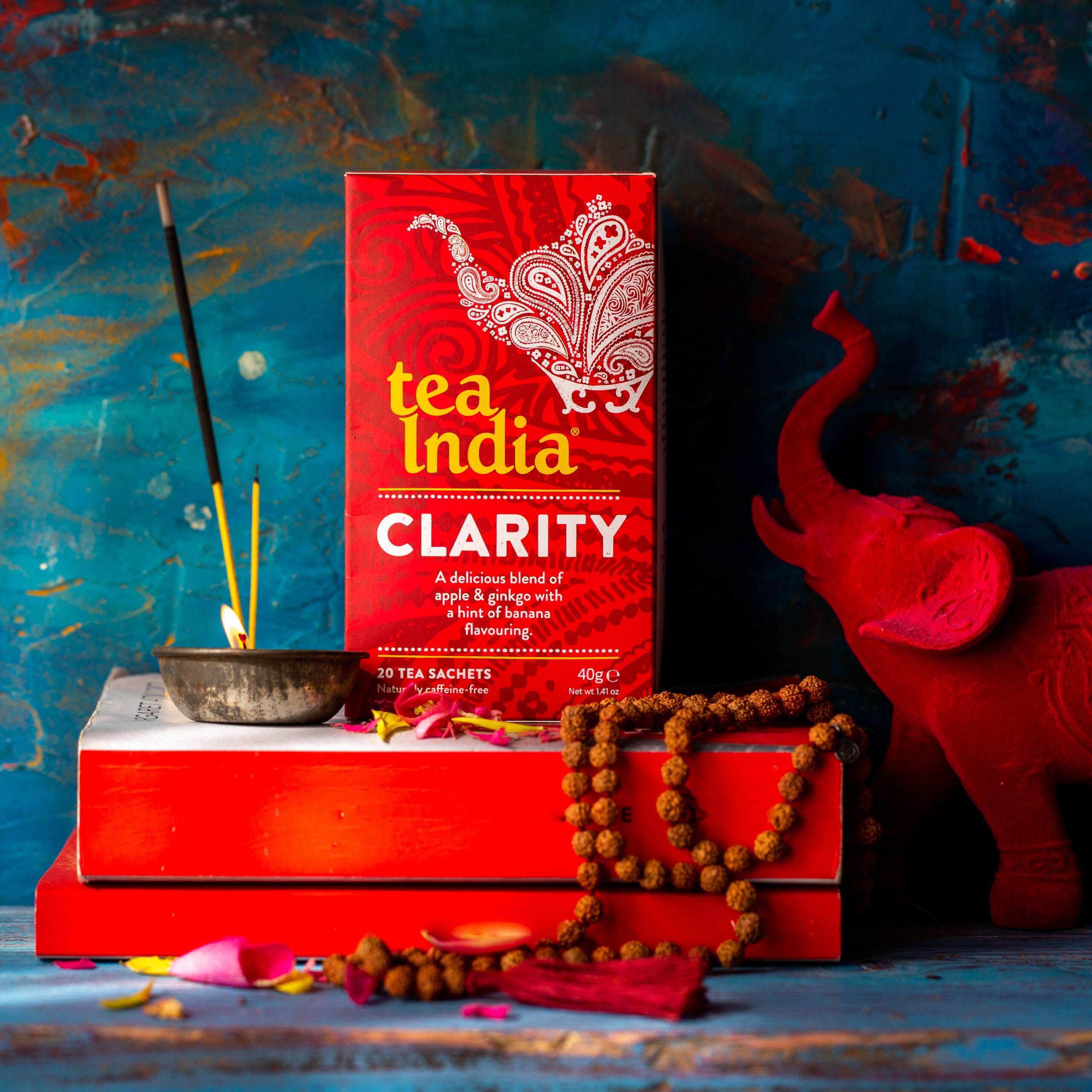Tea India Herbal Tea for Clarity