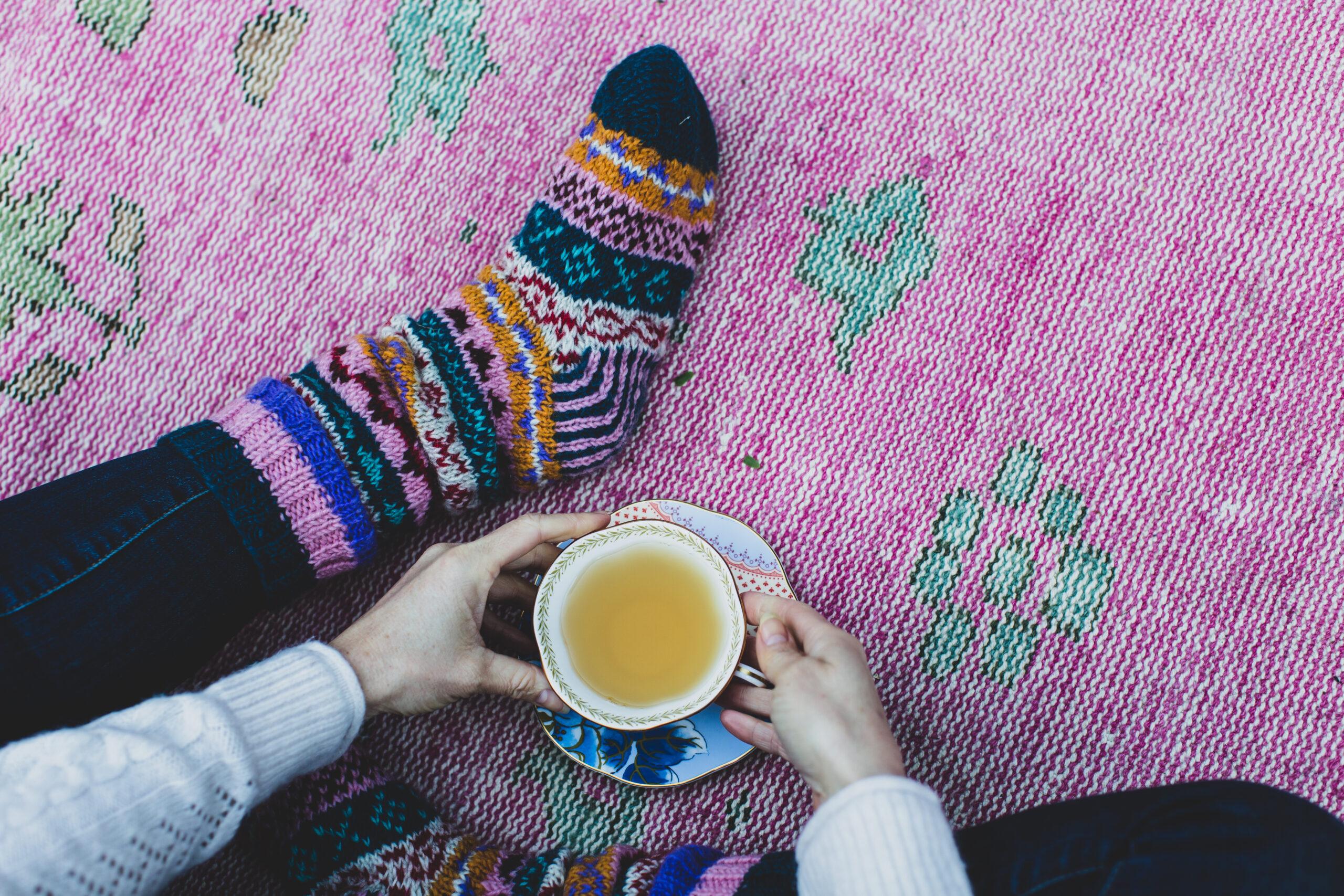 Cup of Kashmiri Kahwa